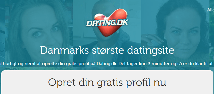 Dating.dk Screenshot NY 2020